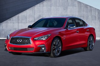GENEVA (Mar. 7, 2017) – INFINITI has enhanced the Q50 premium sports sedan, which makes its global debut at the 2017 Geneva International Motor Show. The new Q50 features refreshed exterior and interior design, and innovative technologies designed to empower and support the driver.